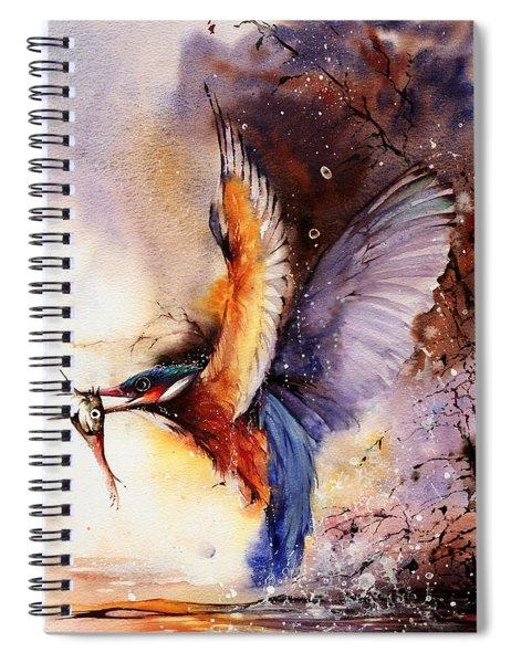 A Splash Of Colour Spiral Notebook