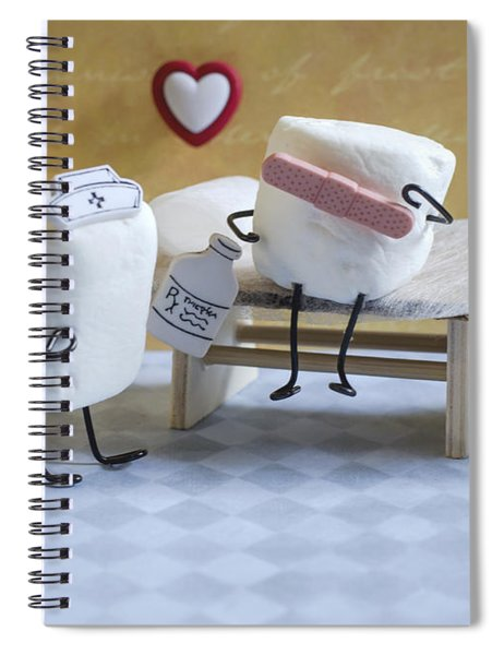 A Spoonful Of Sugar Spiral Notebook