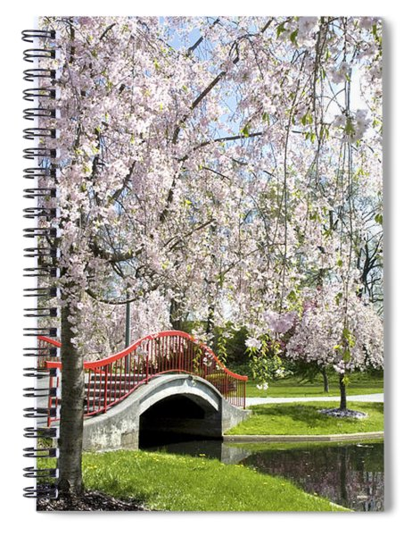 A Spring Walk Spiral Notebook