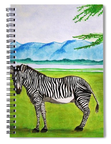 A Striped Chap Spiral Notebook