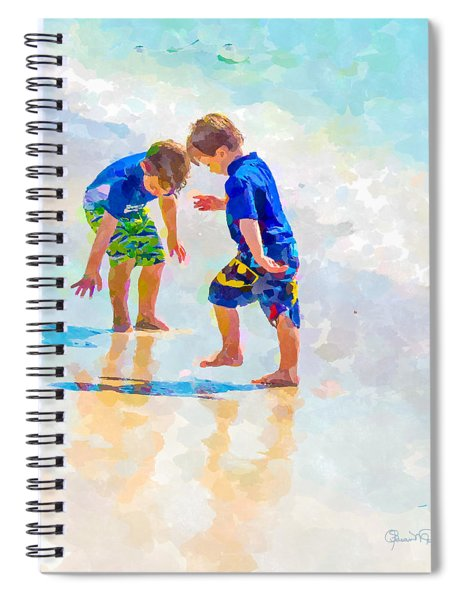 A Summer To Remember Iv Spiral Notebook