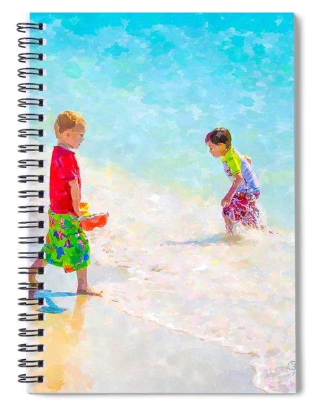 A Summer To Remember V Spiral Notebook