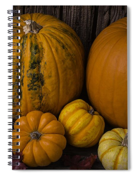A Thankful Harvest Spiral Notebook
