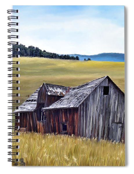 A Time In Montana Spiral Notebook