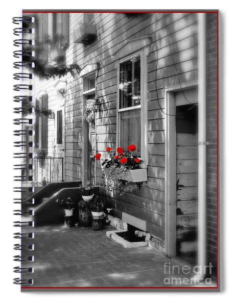 A Touch Of Color Spiral Notebook