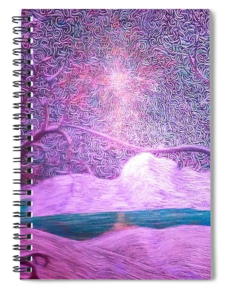 A Touch Of Love Spiral Notebook