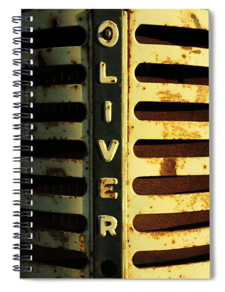 A Tractor Named Oliver Spiral Notebook