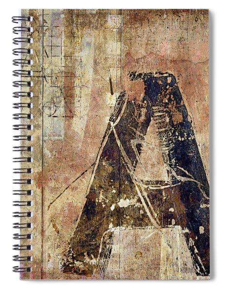 A Train Spiral Notebook