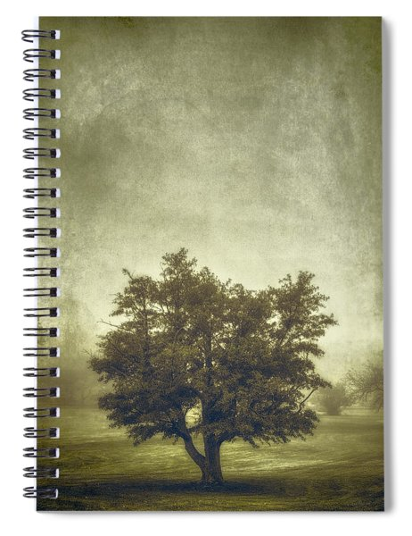 A Tree In The Fog 2 Spiral Notebook