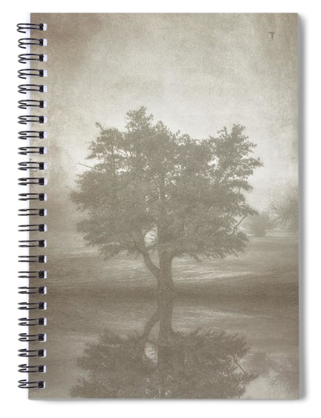 A Tree In The Fog 3 Spiral Notebook