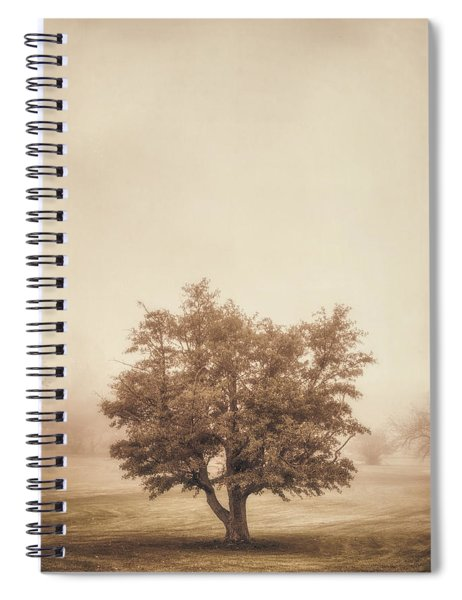 A Tree In The Fog Spiral Notebook