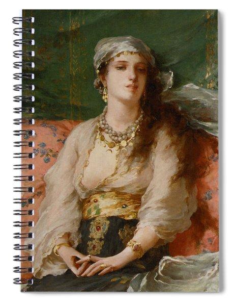 A Turkish Beauty Spiral Notebook