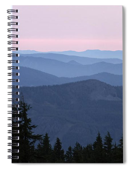 A View From Timberline Spiral Notebook