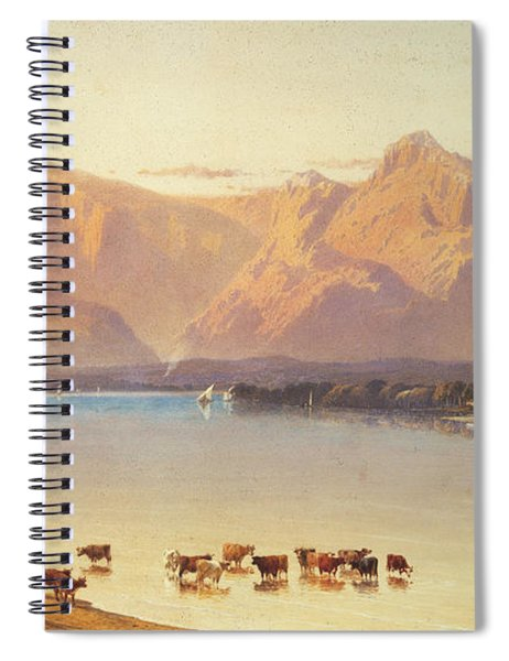 A View Of Windermere Spiral Notebook