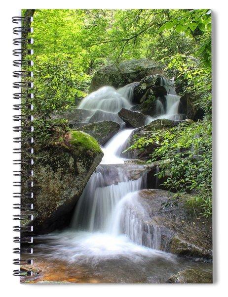 A Walk Along The Jacob Fork Spiral Notebook