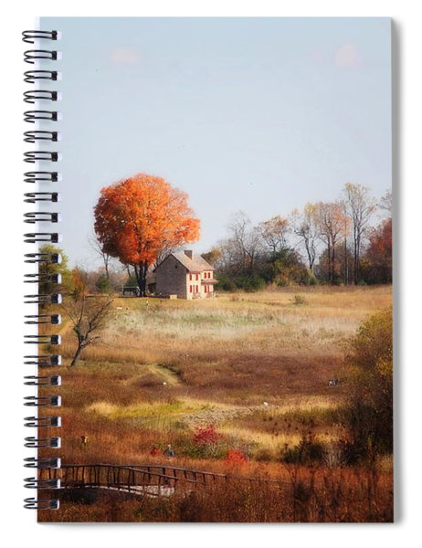 A Walk In The Meadow Spiral Notebook