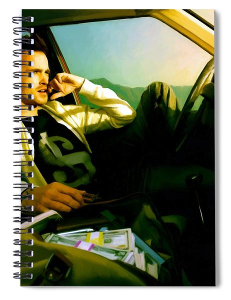 Aaron Paul Spiral Notebook