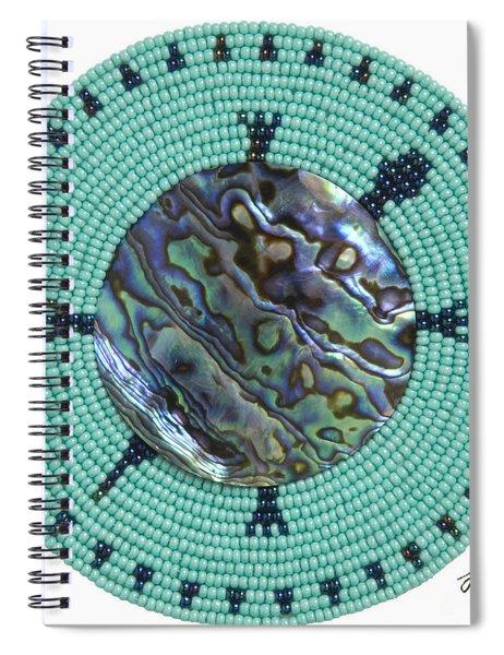 Abalone Shell Spiral Notebook