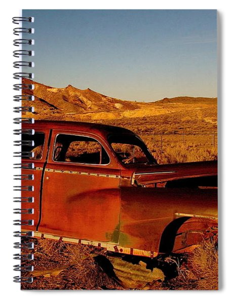 Abandoned And Forgotten Spiral Notebook