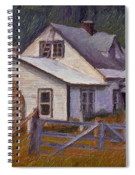 Abandoned Farm House Spiral Notebook