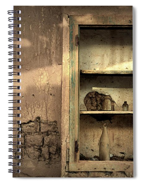 Abandoned Kitchen Cabinet Spiral Notebook