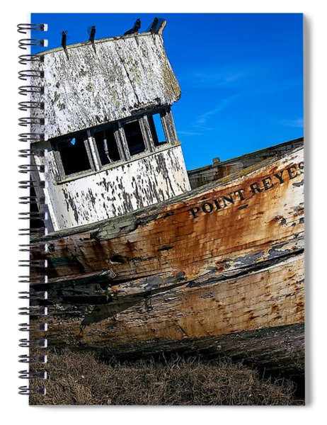 Abandoned Point Reyes Spiral Notebook