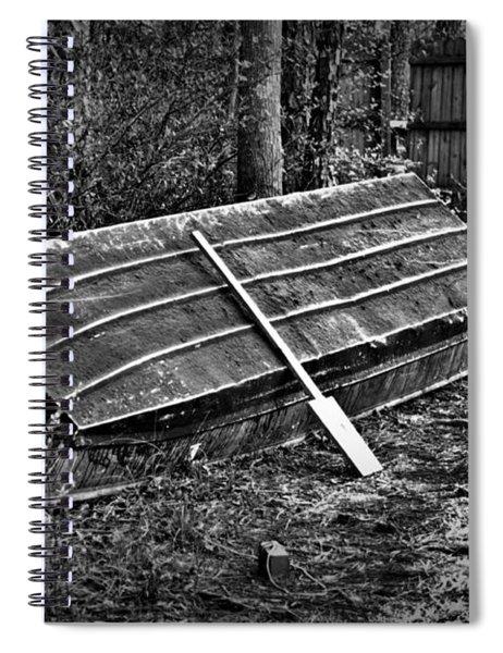 Abandoned Rowboat Spiral Notebook