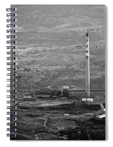 Abandoned Smokestacks Spiral Notebook