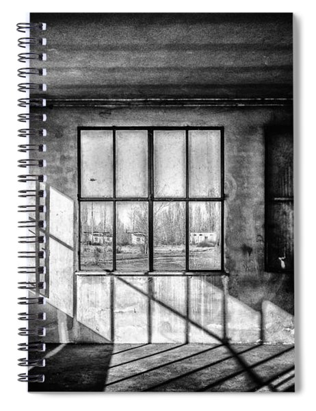 Abandoned Sugar Mill Spiral Notebook