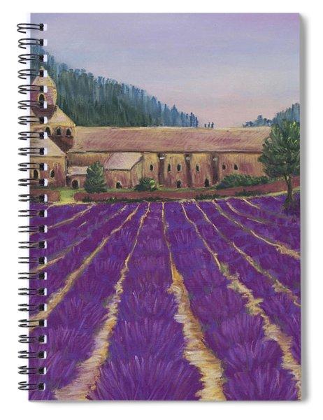 Abbaye Notre-dame De Senanque Spiral Notebook