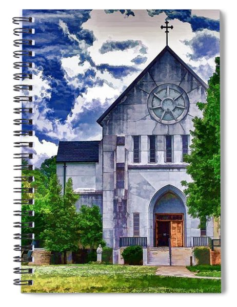 Abbey Church Spiral Notebook