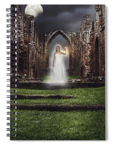 Abbey Ghost Spiral Notebook