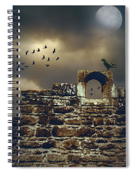 Abbey Wall Spiral Notebook