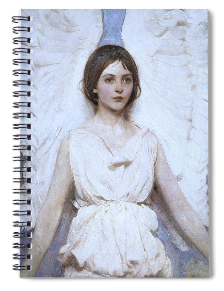 Abbott Handerson Thayer Angel 1886 Spiral Notebook