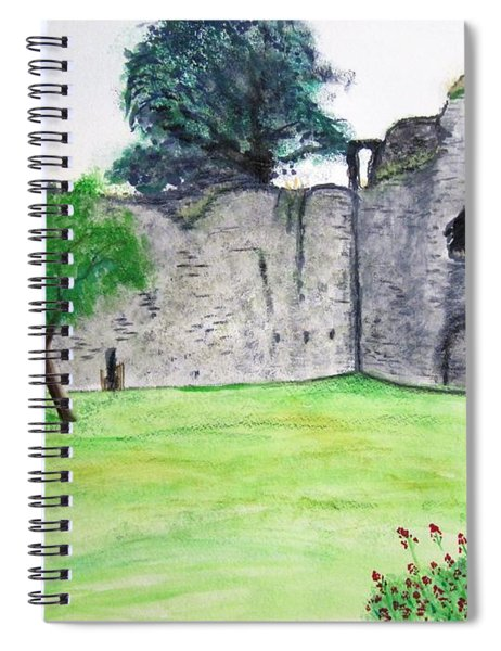 Abergavenny Castle Spiral Notebook