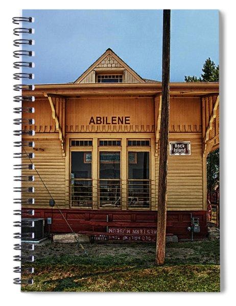 Abilene Station Spiral Notebook