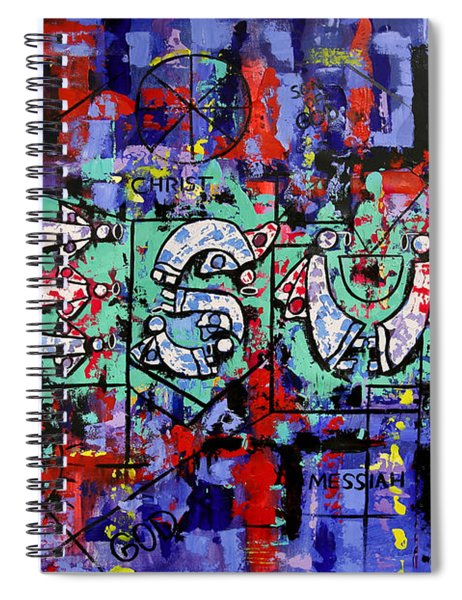 Above All Names Spiral Notebook