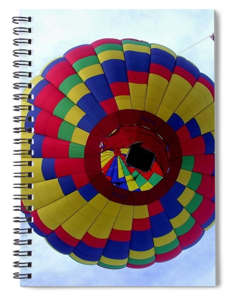 Above And Beyond Spiral Notebook