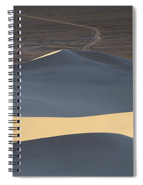 Above The Road Spiral Notebook