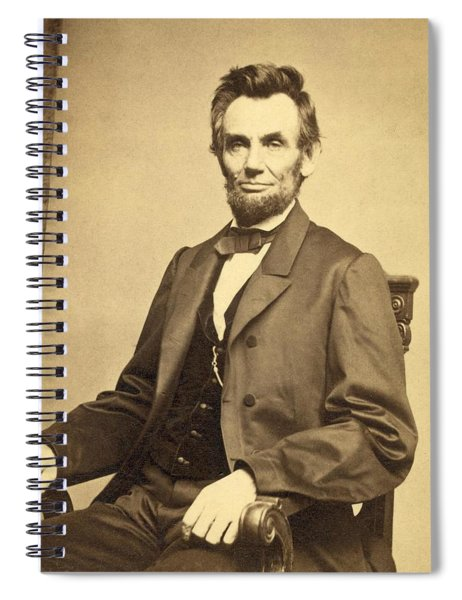 Abraham Lincoln 16th President Spiral Notebook