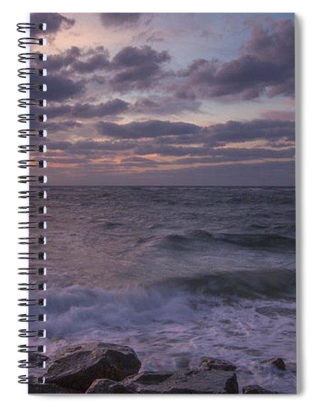 Absense Of Sunlight Spiral Notebook