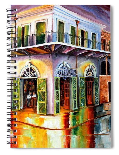 Absinthe House New Orleans Spiral Notebook