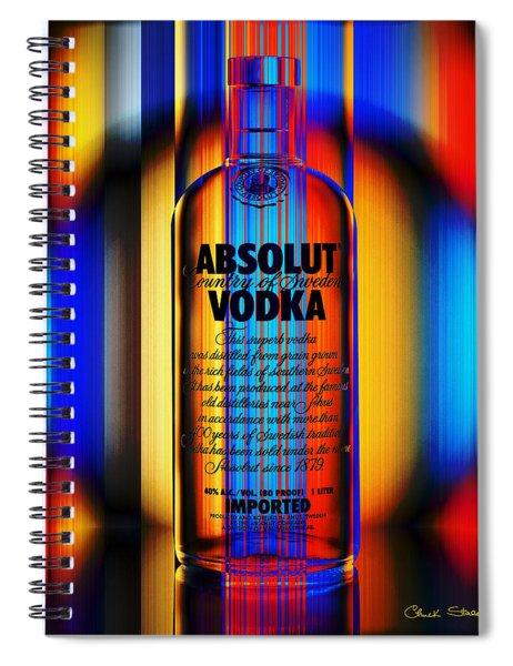 Absolut Abstract Spiral Notebook