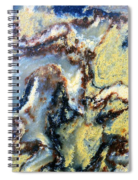 Patterns In Stone - 95 Spiral Notebook