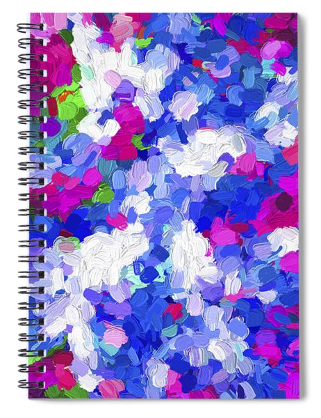 Abstract Series 02 Spiral Notebook