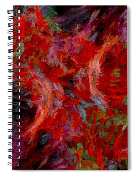 Abstract Series 08 Spiral Notebook