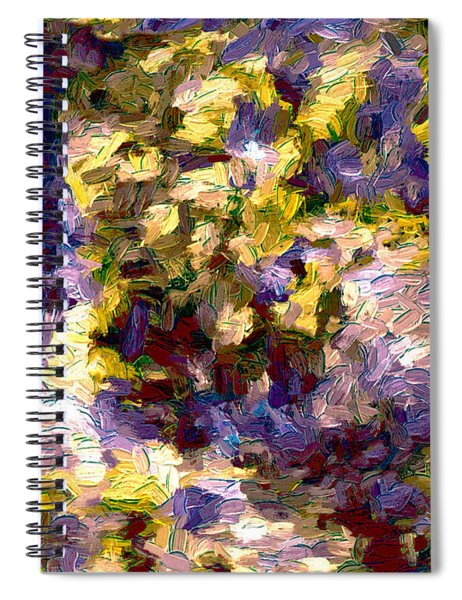 Abstract Series 10 Spiral Notebook
