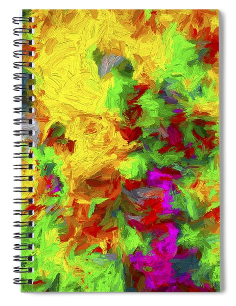 Abstract Series 11 Spiral Notebook