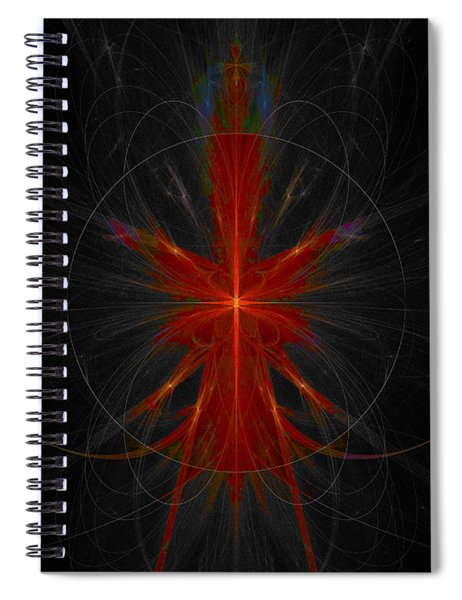 Abstract Series 15 Spiral Notebook
