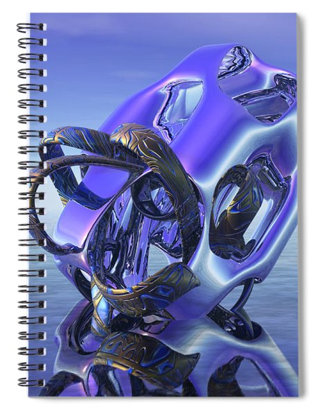 Abstract 333 Spiral Notebook